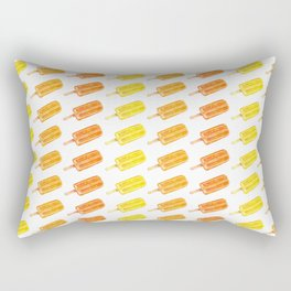 Colorful Popsicles - Summer Pattern Rectangular Pillow