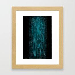 Teal Dream Framed Art Print