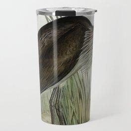 Great-billed Heron (Ardea rectirostris) illustrated by Elizabeth Gould (1804-1841) for John Goulds ( Travel Mug