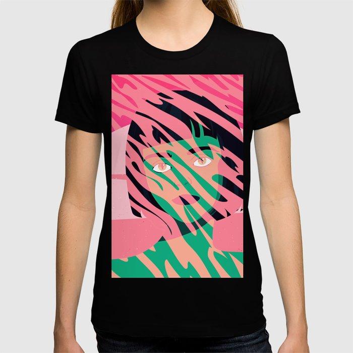 Cat Planet Girl T-shirt