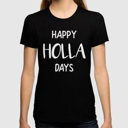 Christmas Happy Holladays T-shirt