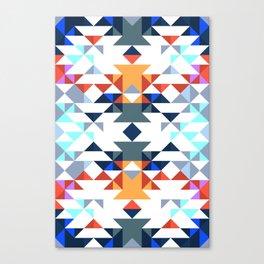 Aztec 5 Canvas Print
