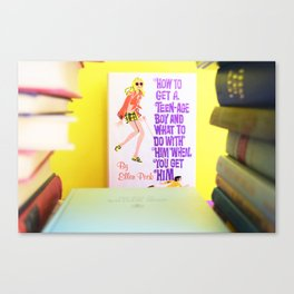 How to Get a Teenage Boy and What to Do with Him When you Do Get Him Canvas Print