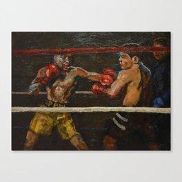 Left Hook Canvas Print