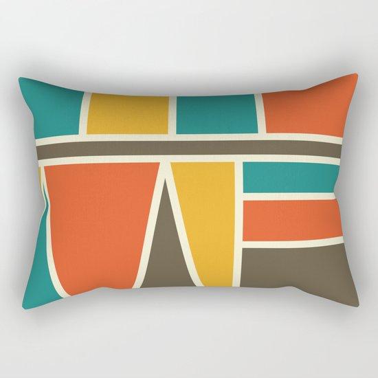 Kaku Retro Rectangular Pillow