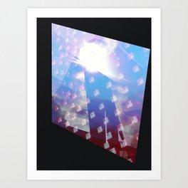 Lights Art Print