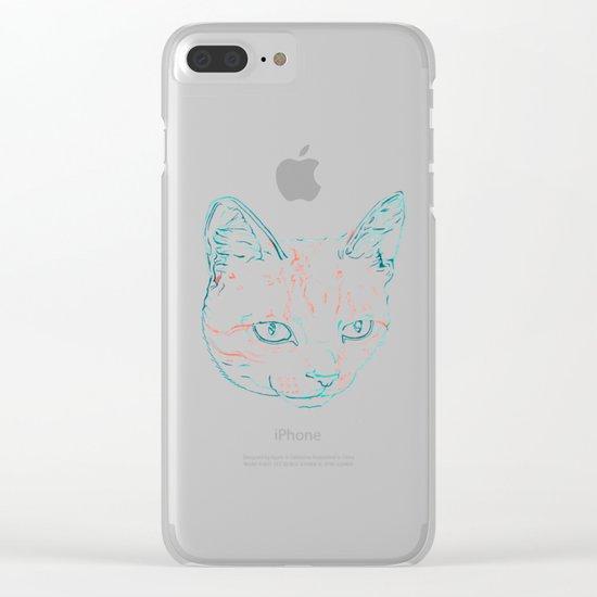 Tabby Kitten Clear iPhone Case