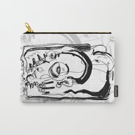 Downfall - b&w Carry-All Pouch