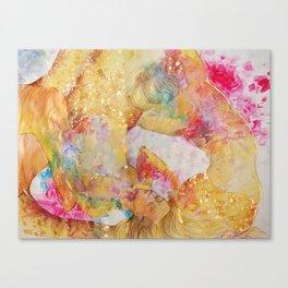 El Oro del Mar Canvas Print