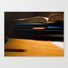 A Bit of Homework Canvas Print