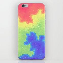 Rainbow Pride Flag Galaxy iPhone Skin