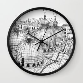 San Marco Rooftops Wall Clock