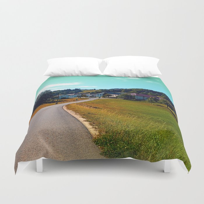 Country road, take me nowhere Duvet Cover