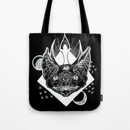 Batphomet (black) Tote Bag