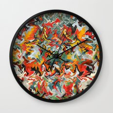 Come Find Me Wall Clock