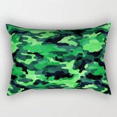 Camouflage (Green) Rectangular Pillow