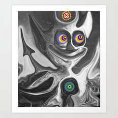 The Anomoly Art Print