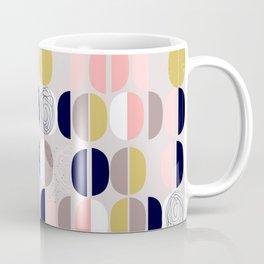 scandinavian abstract soft colours Coffee Mug