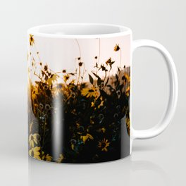 California Sunshine and Flowers Coffee Mug