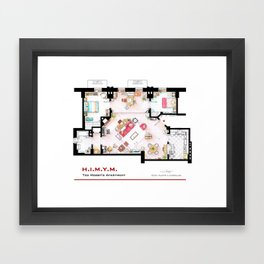 Ted Mosby apartment from 'HIMYM' Framed Art Print