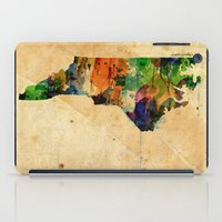 north carolina iPad Cases featuring North Carolina by TiannaHarman