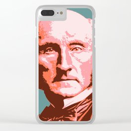 John Stuart Mill Clear iPhone Case