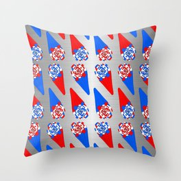 Festive Warheads Throw Pillow