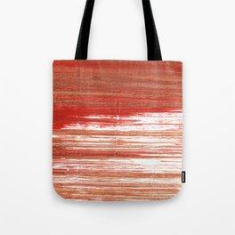 Medium carmine abstract watercolor Tote Bag