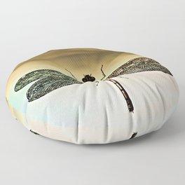 DRAGONFLY I Floor Pillow