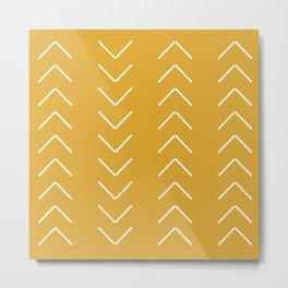 V / Yellow Metal Print