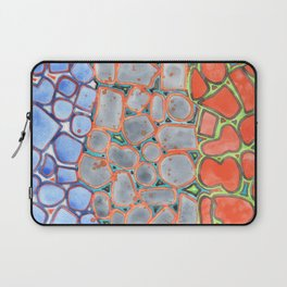 Summer Heat over Refreshing Water Pattern Laptop Sleeve