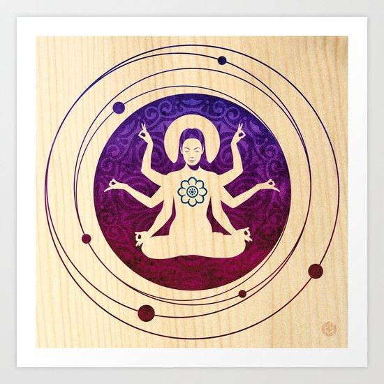 Shiva Teriyaki Art Print