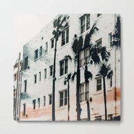 palm mural venice ii Metal Print