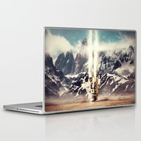 gravity Laptop & iPad Skins featuring Gravity by James McKenzie