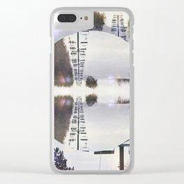 Ski Hill Mind Bend Clear iPhone Case