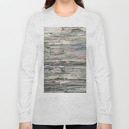 Old Rotten Wood Long Sleeve T-shirt