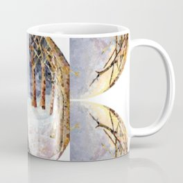 Wolf Oval Pattern Coffee Mug