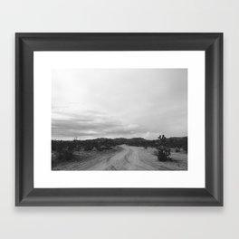 DESERT II (B+W) Framed Art Print
