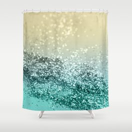 Lemon Twist Beach Glitter #2 #shiny #decor #art #society6 Shower Curtain
