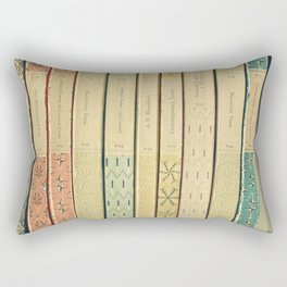 Old Books Rectangular Pillow