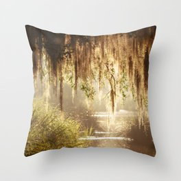 Lowcountry Swamp Throw Pillow