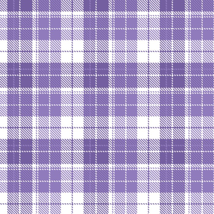 Ultra Violet Tartan Pattern Leggings