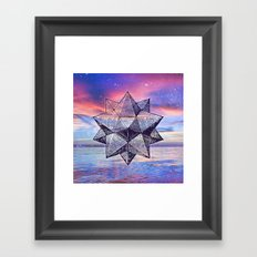 Sacred Geometry Universe 8 Framed Art Print
