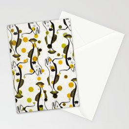 Lucky Fish 2/3 Stationery Cards