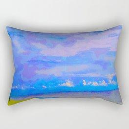 Horizon at Icacos Rectangular Pillow