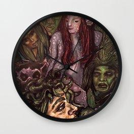 Garden of the Fae Wall Clock