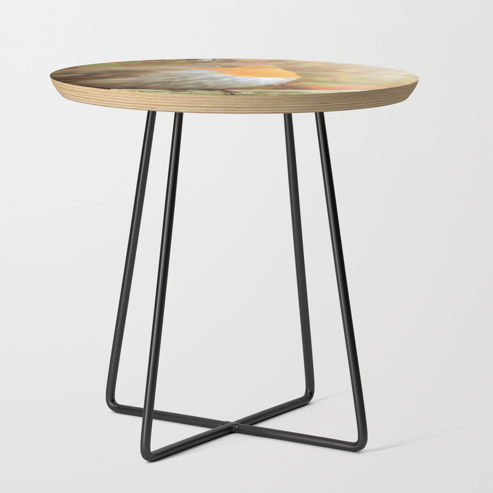Robin Redbreast Side Table by Julianarw (STD10038222) photo
