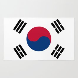 South Korean Flag Rug