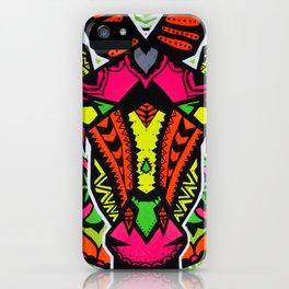 NEÓN GIRAFFE iPhone Case