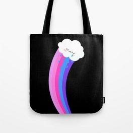 Sad Cloud Still Spreads Magenta Joy Tote Bag